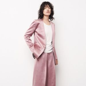 Pink Satin Elizabeth & James Blazer